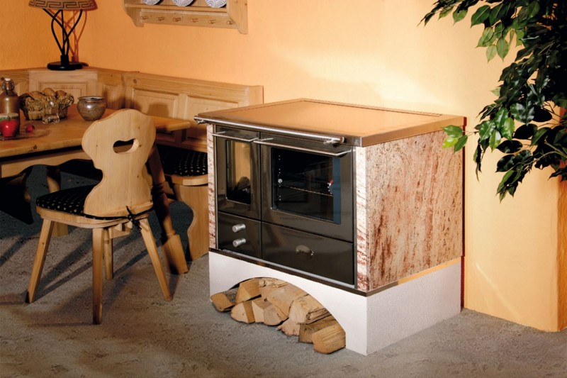 Küchenofen, Holzherd, Beistellherd Santek GmbH